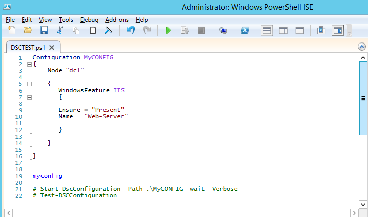 basic powershell desired state configuration example – mgbleeds techtalk